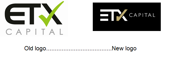 ETX Capital old and new logos