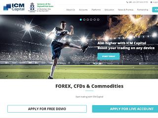 ICM Capital website