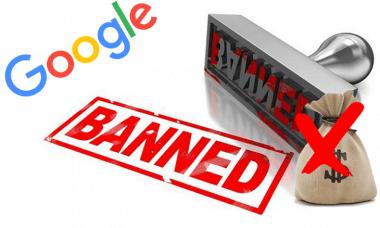 google crypto ad ban