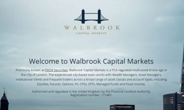 walbrook capital markets fxcm
