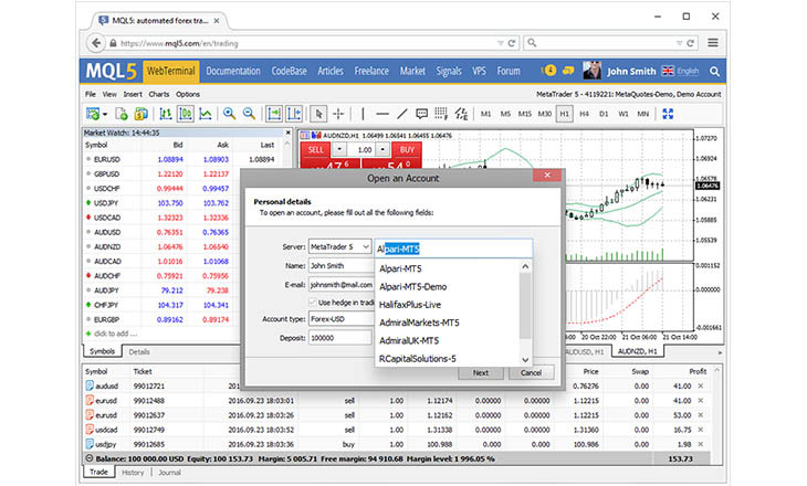Horizon forex trading software download