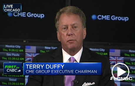Newly appointed CME CEO Terry Duffy