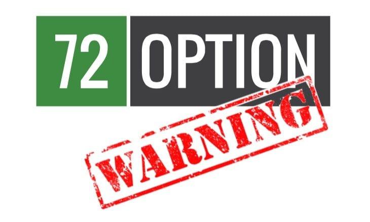 Binary options warning