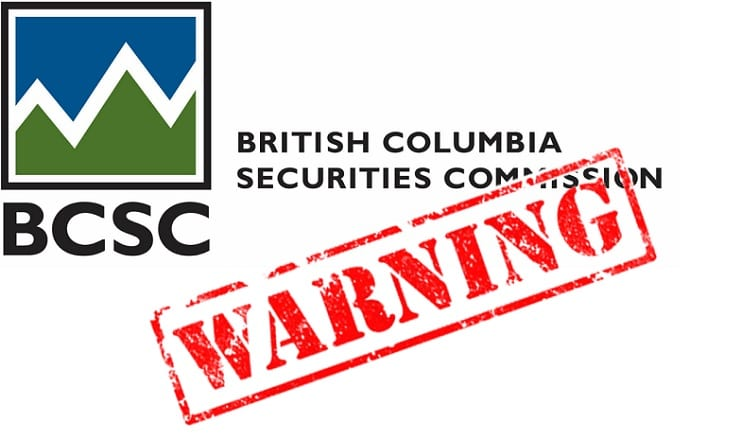 BCSC warning - Can I start forex trading at $10?