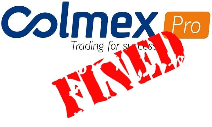Retail forex broker Colmex Pro gets €100,000 CySEC fine for