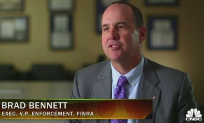 J. Bradley Bennett, FINRA Executive Vice President, Enforcement