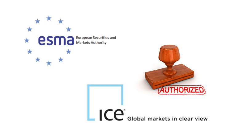ICE Clear Europe recognized as a third-country CCP by ESMA