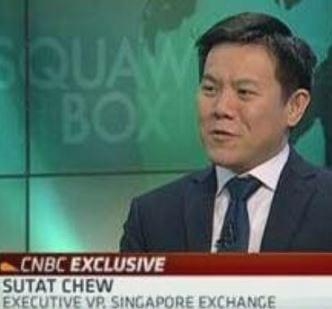Sutat Chew EVP, Singapore Exchange