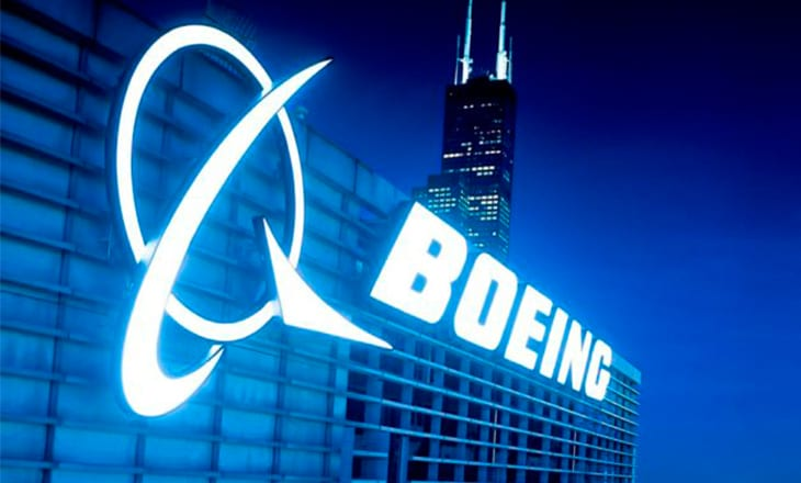Boeing's shares drop, worst trading day since 2001