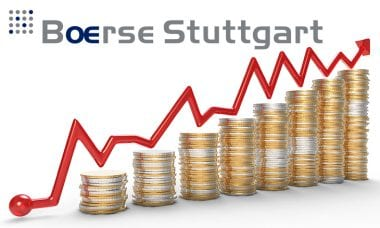 Boerse Stuttgart volumes