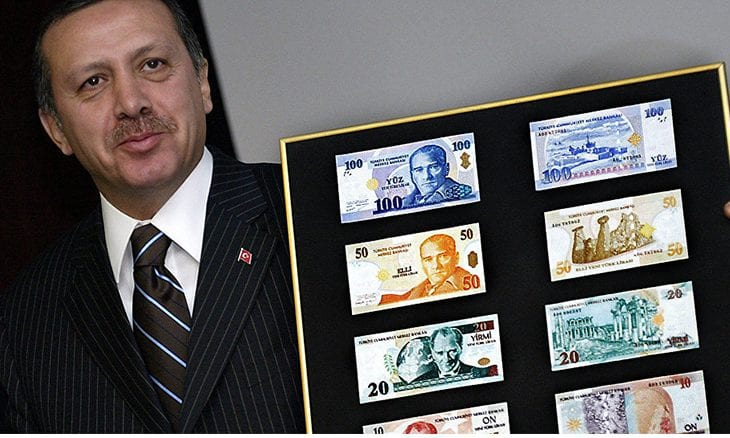 Turkish Lira continues to tumble, Turkish President compares forex speculators to terrorists