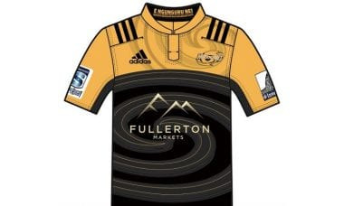 Hurricanes rugby jersey