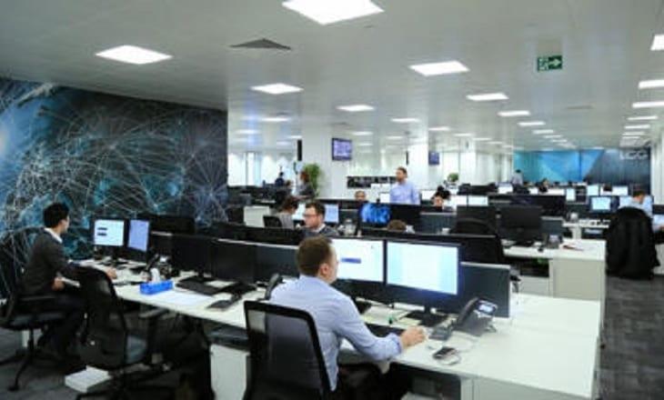 LCG trading floor