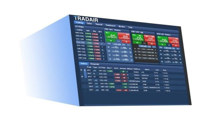 TradAir fx platform execution