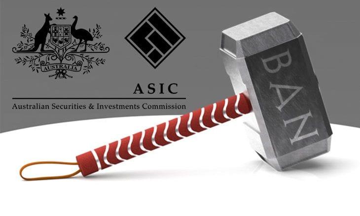 ASIC bans