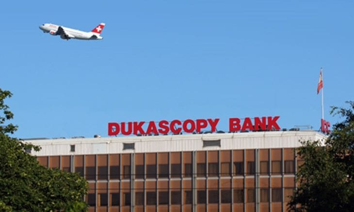 Dukascopy headquarters Geneva