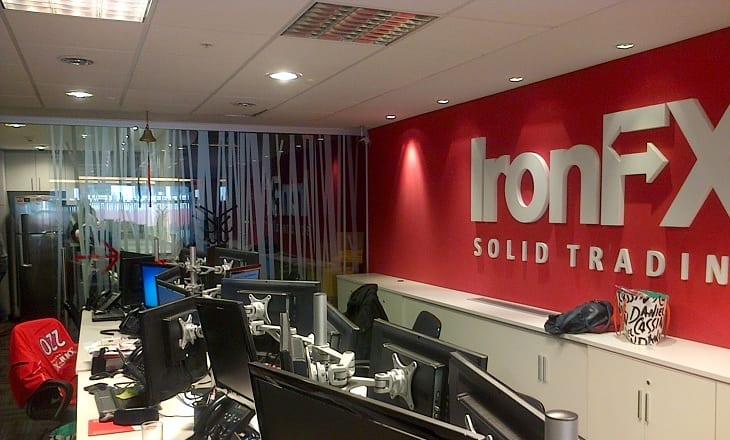 IronFX office
