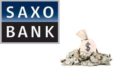 saxo bank commissions