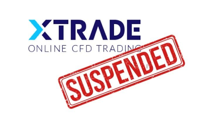 XTrade suspended forex CySEC