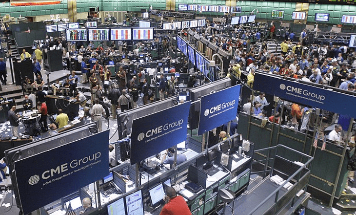 cme group trading floor