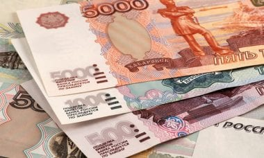 ruble trading