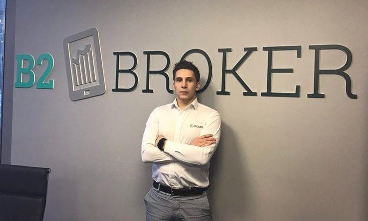 Arthur Azizov CEO B2Broker