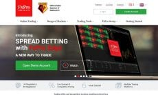 FxPro Edge spread betting