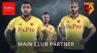 FxPro Watford FC jersey