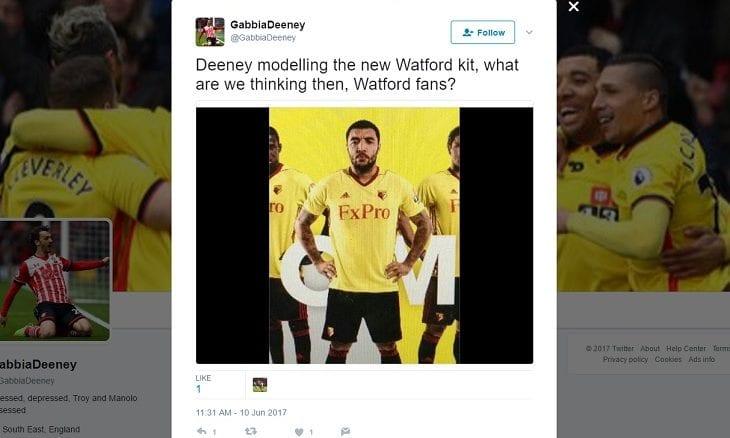 FxPro Watford FC sponsor