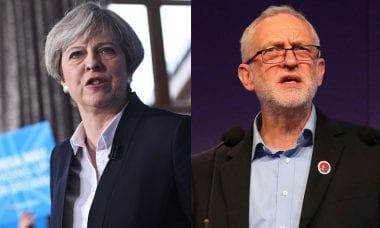 Theresa May vs Jeremy Corbyn