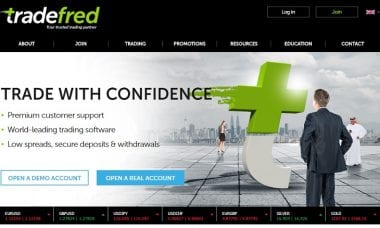 TradeFred forex CFD broker Betfred