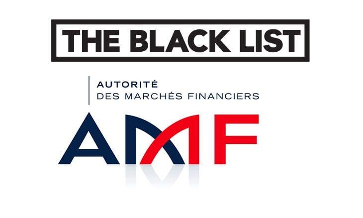 AMF black list