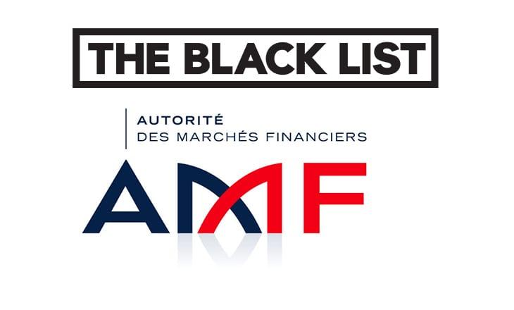 Blacklist forex amf