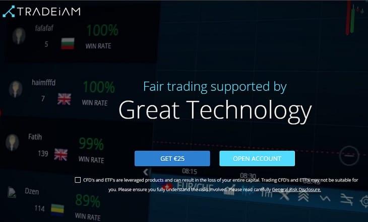 Tradeiam FX broker