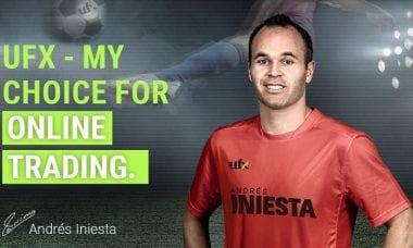UFX Andres Iniesta