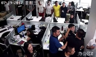USGFX china employees hostages