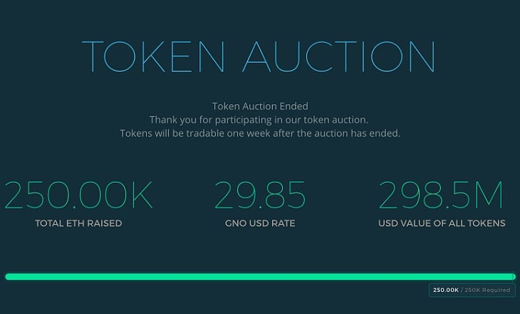 token auction ICO SEC registration