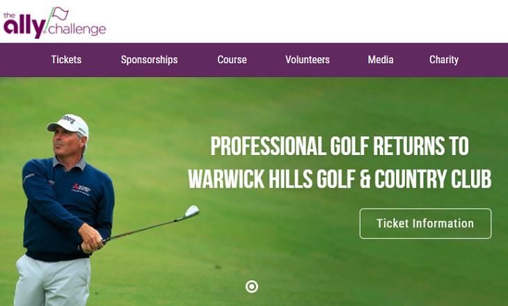 Ally Challenge champions tour golf warwick hills