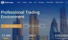 Formax UK website