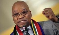 Jacob Zuma South Africa Rand