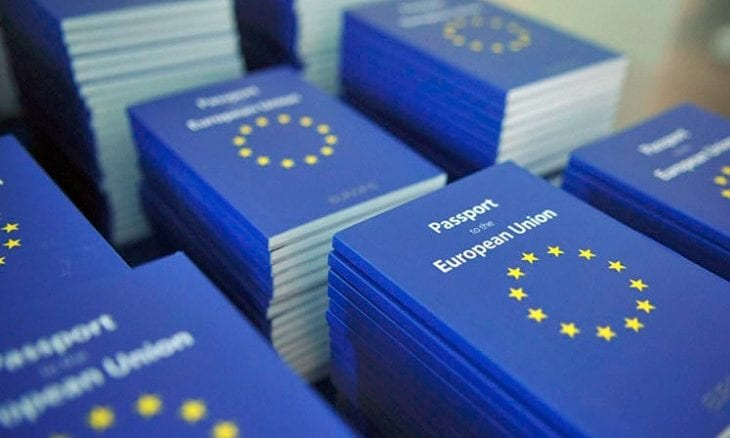 MiFID II EU license passport