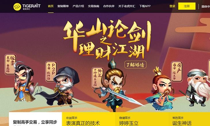 TigerWit China fx broker