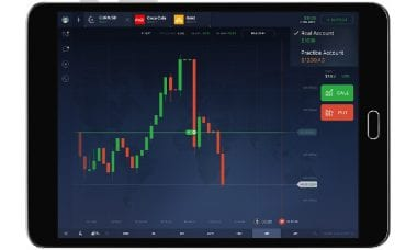 binary options mobile trading app