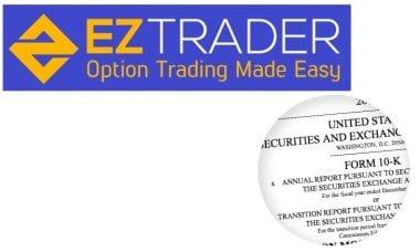 EZTrader SEC filing