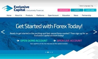 Exclusive Capital fx broker