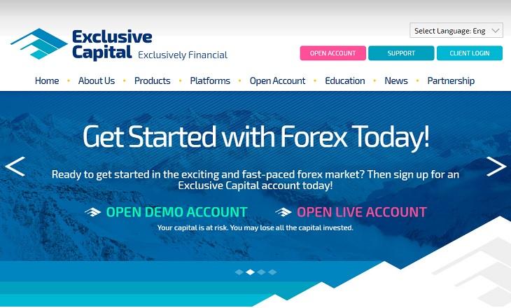 Exclusive Capital fx broker