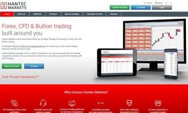 Hantec Markets new website