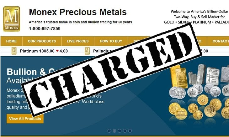 Monex Precious Metals fraud charges