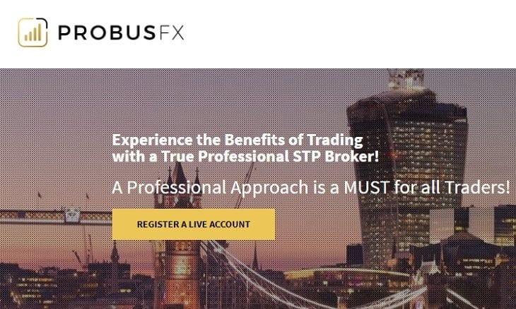 ProbusFX website