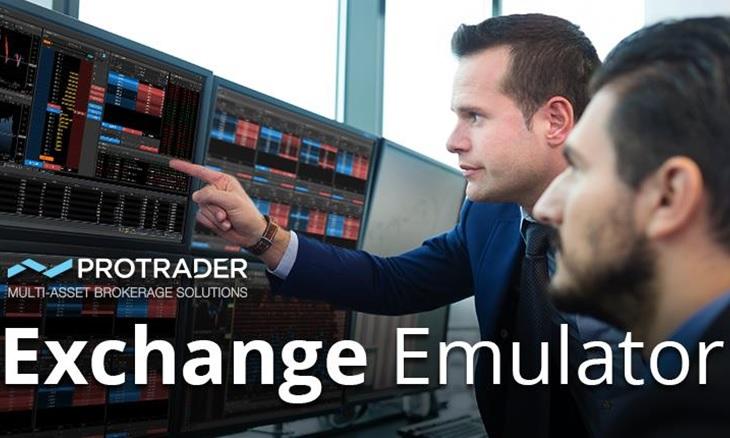 Protrader Exchange Emulator